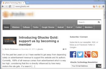 Cómo restaurar las flechas de la barra de desplazamiento en Google Chrome