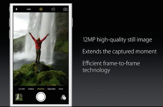 Fotos en vivo en iPhone 6S