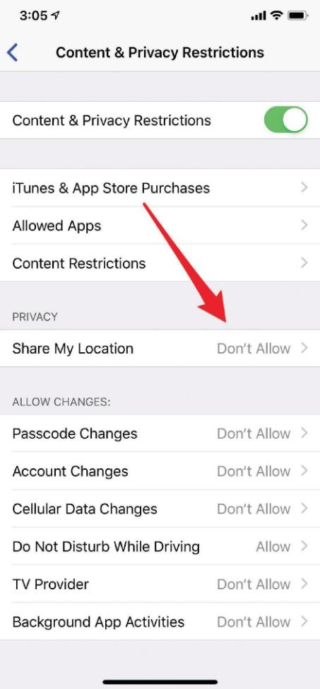 bloquear rastreador de iphone