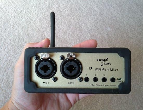 Micro mezclador - Vista frontal