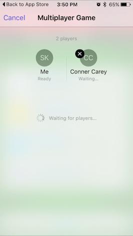 Cómo invitar amigos a una partida multijugador en Game Center