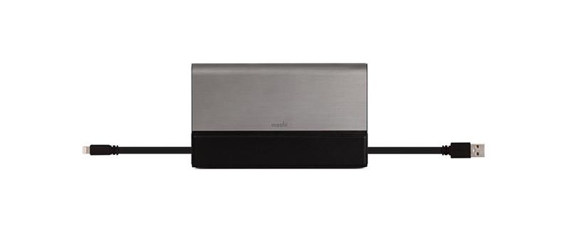 El paquete de baterías portátil Moshi IonBank 10K brinda energía con estilo